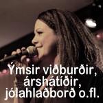 um 29 Ýmsir viðburðir, árshátíðir, jólahlaðborð o.fl.