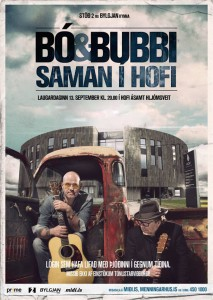 Bo og Bubbi i Hofi FB plakat 01