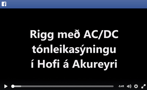 FB acdc snapchat saga akureyri